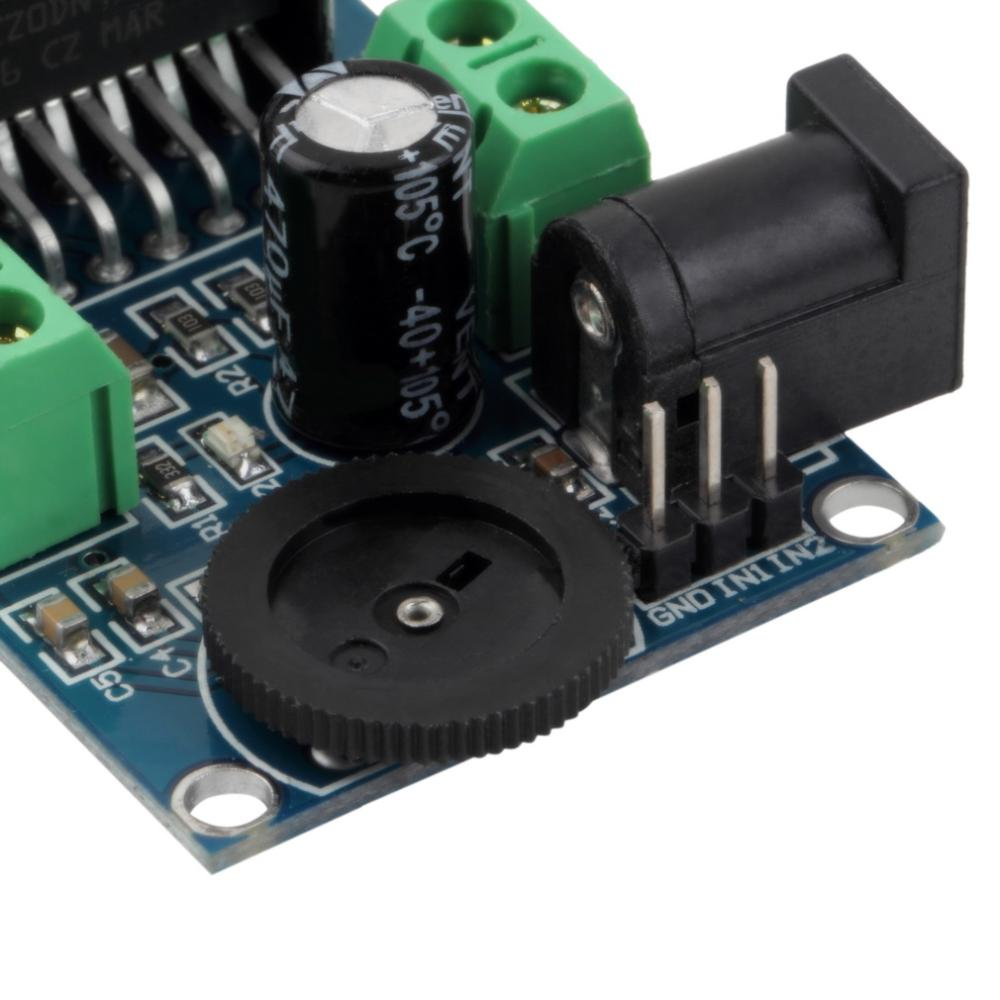 image for 1pcs  Audio Power Amplifier DC 6 To 18V TDA7297 Module Double Channel