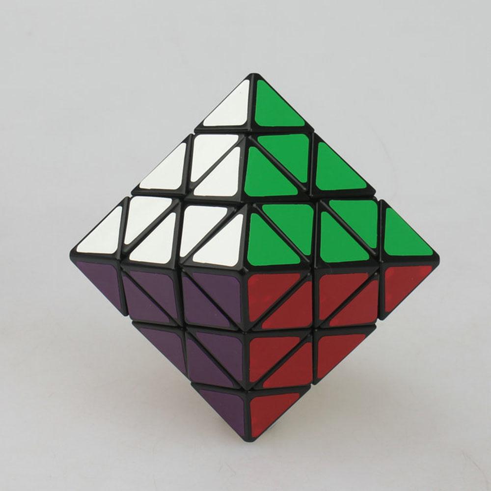 1pcs octahedron Face-Turning Cube 8-Sided Magic Cube Puzzle Toys for Kids jeta(China (Mainland))