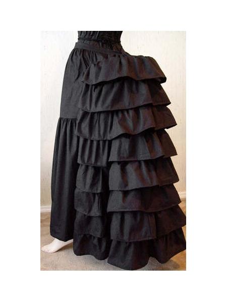 Black/White Cotton Victorian Bustle Gothic Victorian esОдежда и ак�е��уары<br><br><br>Aliexpress