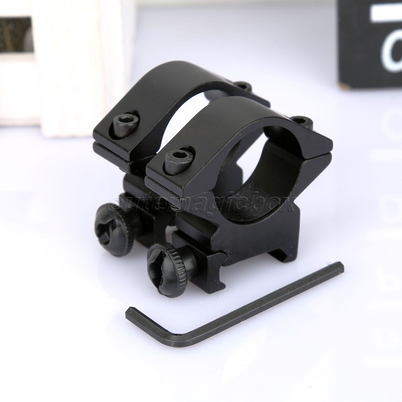 High Quality Aluminum One Pair Tactical Low Profile 25.4mm Scope Rings Barrel fit 20mm Picatinny Weaver Rail Mount Holder 2pcs(China (Mainland))