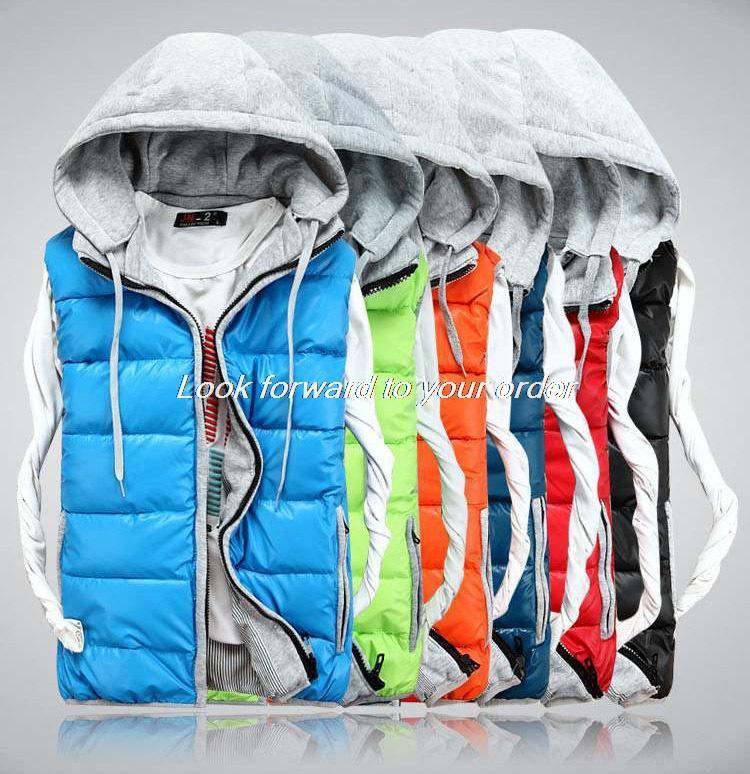 Men Warm Winter Waistcoat Men s Outwear Vest Jacket Thick Winter Sleeveless Coat For Man winter