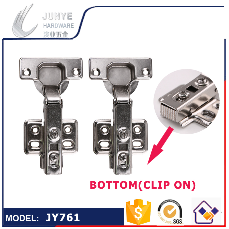 2pc Hydraulic cabinet hinge clip on type with screw Soft Close Concealed Kitchen Cabinet Furniture Cupboard Door Hinge(China (Mainland))