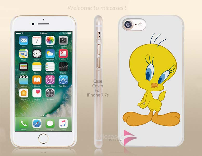 Debby Moss Bailey tweety bird old cartoon Hard Clear Cell Phone Case Cover for Apple iPhone 6 6s 7 7s Plus(China (Mainland))