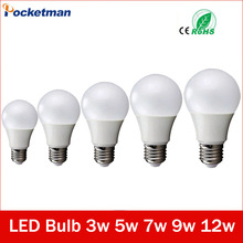Buy Led Bulbs 220v E27 LED Lamp E27 3W 5W 7W 9W 12W 220V Cold White/Warm White Lampada Ampoule Bombilla LED Light Bulb Co., Ltd.) for $1.36 in AliExpress store