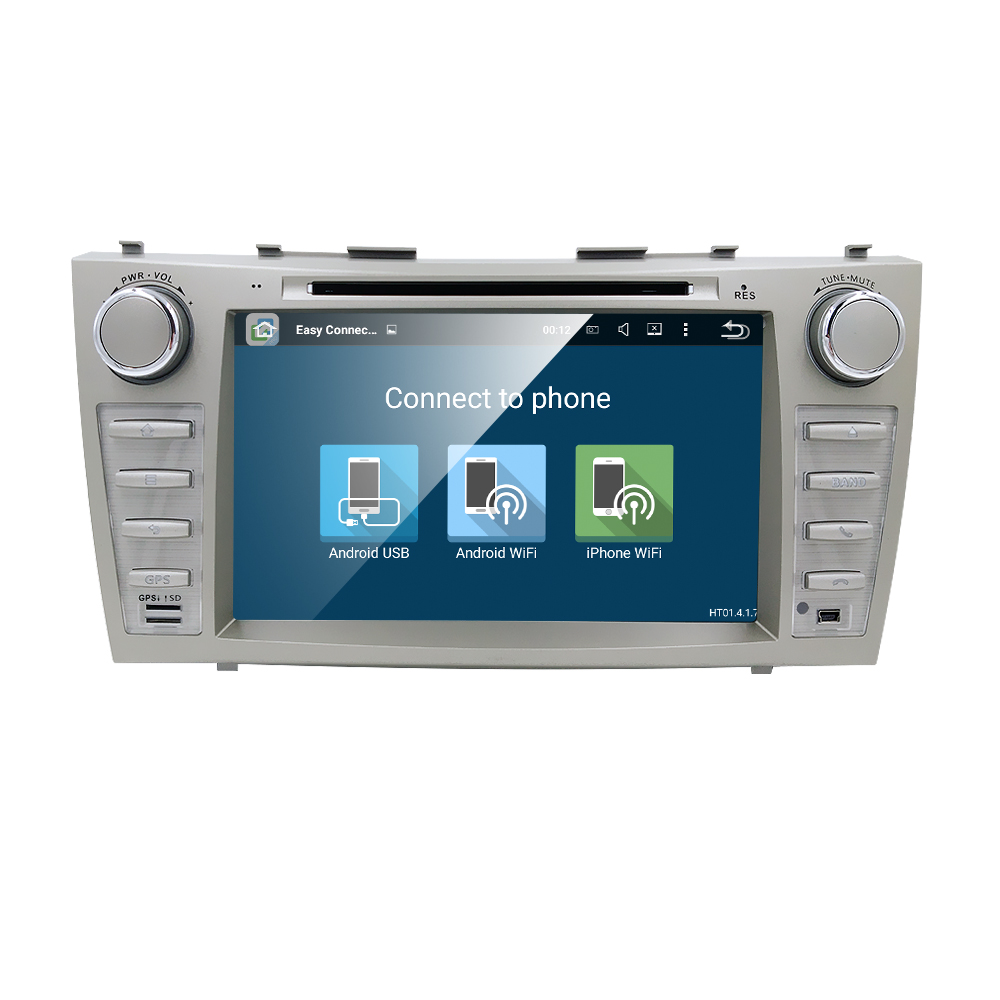 Quad Core 1024*600 Android 5.1.1 Car DVD Player GPS for Toyota Camry 2007 2008 2009 2010 2011 Support OBDll (DTV DAB+ Optional)(China (Mainland))