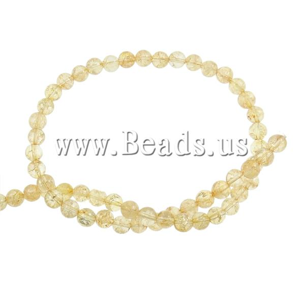 Free shipping!!!Crackle Quartz Beads,New Arrival, Citrine Beads, Round, 14mm, Hole:Approx 1mm, Length:Approx 15.7 Inch