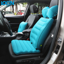 High Quality TPU Fabrics Car Travel Neck Cushion Flight Car Inflatable Cushion Neck Rest Air Cushion Car Inflatable Seat Cover(China (Mainland))