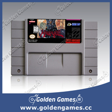 Hagane 16 bit  Big Gray Game Card For USA NTSC Game Player(China (Mainland))