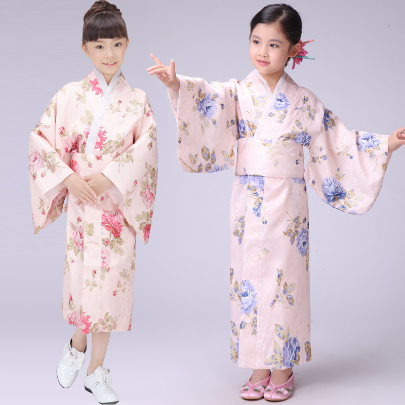 Online buy wholesale kids kimono costume from china kids Japanese clothing designers