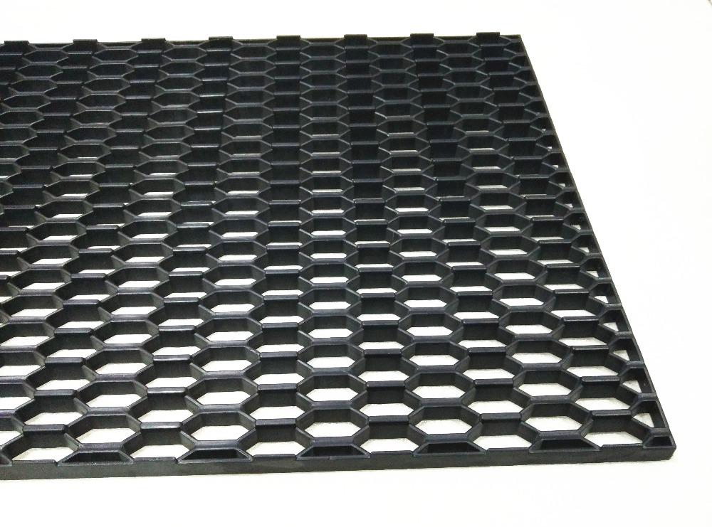 Universal-used Auto Car Plastic Black Honeycomb Big Hole Mesh Grille(China (Mainland))