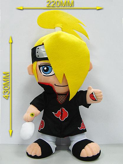 "Free Shipping FS Naruto Uzumaki 30cm/12"" Plush Doll Toy Figure Japanese Anime New(China (Mainland))"