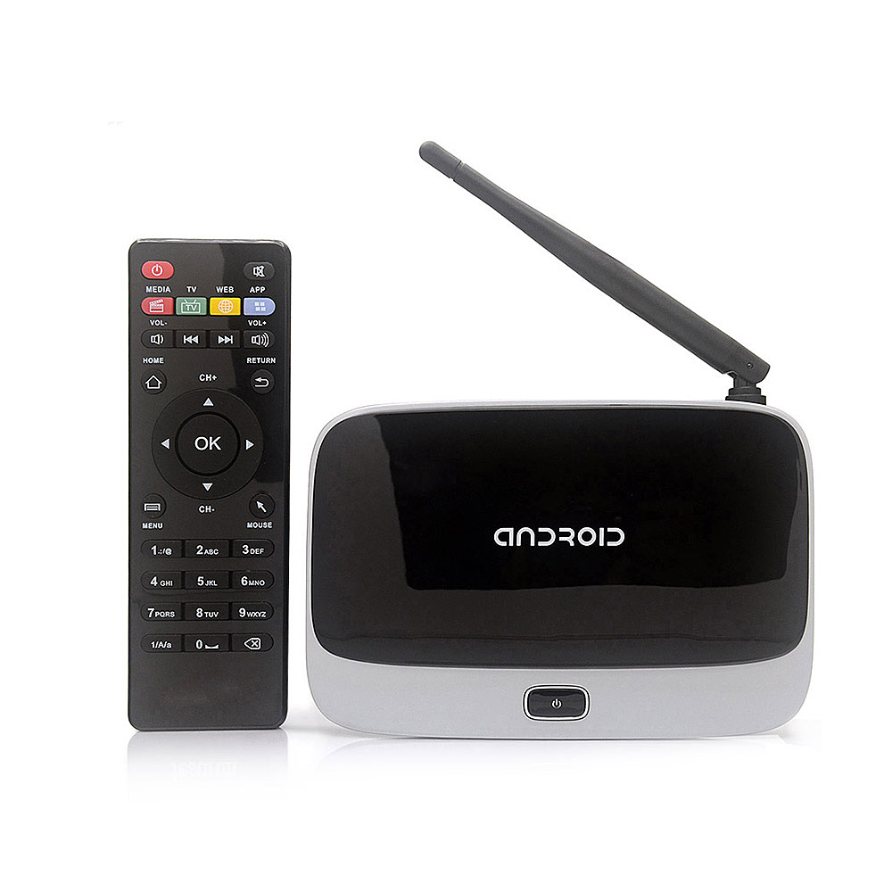 CS-918T Smart Android TV Box Rockchip RK3128 Quad Core ARM Cortex A7 2G/16G H.265 XBMC DLNA Miracast Airplay WiFi Bluetooth 4.0(China (Mainland))