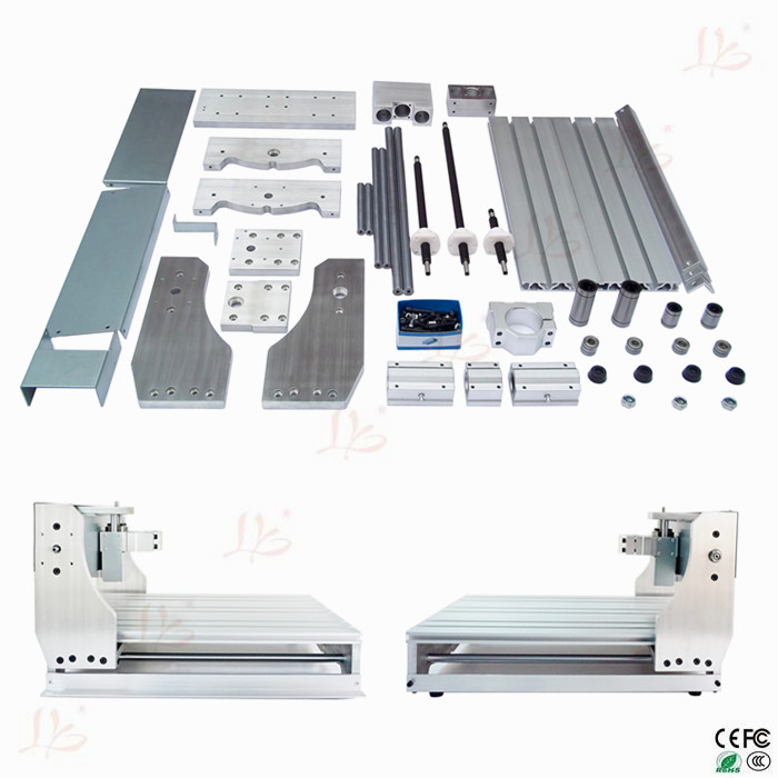 CNC engraving machine parts, cnc router machine table,suitable for CNC 3020T with Trapezoidal screw(China (Mainland))