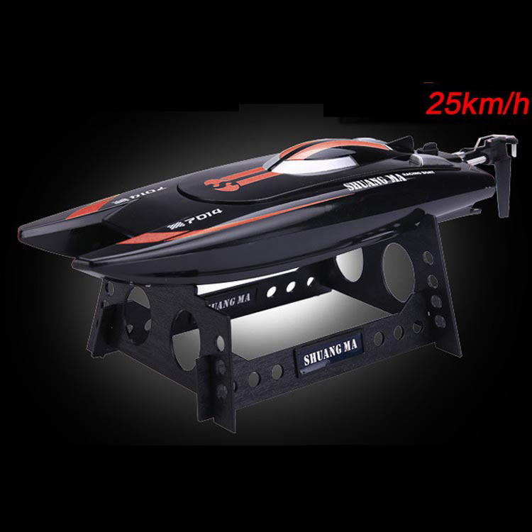 SHUANG MA DH7014 High Speed 2.4G 25KM/H Racing RC Boat Electric Remote Controlled Speedboat with Super Water-cooled Motor(China (Mainland))