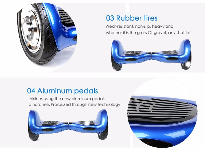No tax 2 Wheels 10 inch Self Balance Scooter Hover board Standing Smart wheel Motorized Adult big tire hoverboard