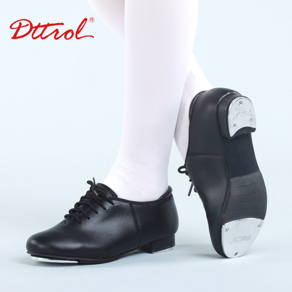 Здесь можно купить  Adult  faux leather oxford rubber shoes women tap dance shoes Teacher Stage shoes tap dance shoes D013001  Спорт и развлечения
