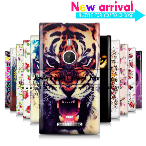 11 patterns 1pcs high quality soft back cover case for Nokia Lumia 925 TPU gel case for Nokia Lumia 925 Mobile Phone Cases(China (Mainland))