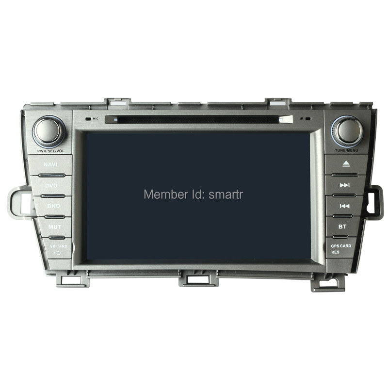 Hot Special 8 inch TFT 800*480 car dvd palyer for Toyota Prius 2009-2012 left & right drive gps navigation(China (Mainland))