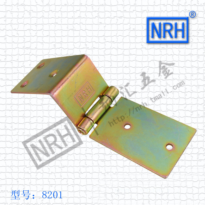 NRH8201color zinc plating Strap Hinge GB cold rolled steel Strap Hinge wooden case Strap Hinge High quality factory direct sales(China (Mainland))