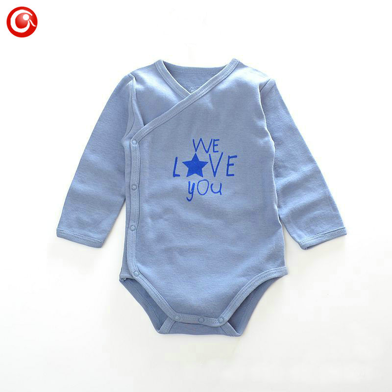 0-23M 2016 Baby Boy Sporting Rompers Long Sleeve Infantil Pijama Bebes Winter Jumpsuits Kids Girls Newborn Clothes Baby Sleepers(China (Mainland))
