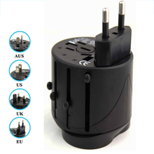 5V 1A Muilt-function Universal Travel Adapter Charger Socket US/EU/UK/AU plugs International Plugs Cell Phone - Shenzhen Zerospace Technology Ltd. store