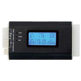 Atx power supply computer case power supply tester power supply testing instrument(China (Mainland))