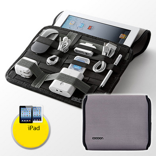 Cocoon grid it Digital Package travel cable organizer storage bag travel set cable bag For ipad electronics travel organizer(China (Mainland))