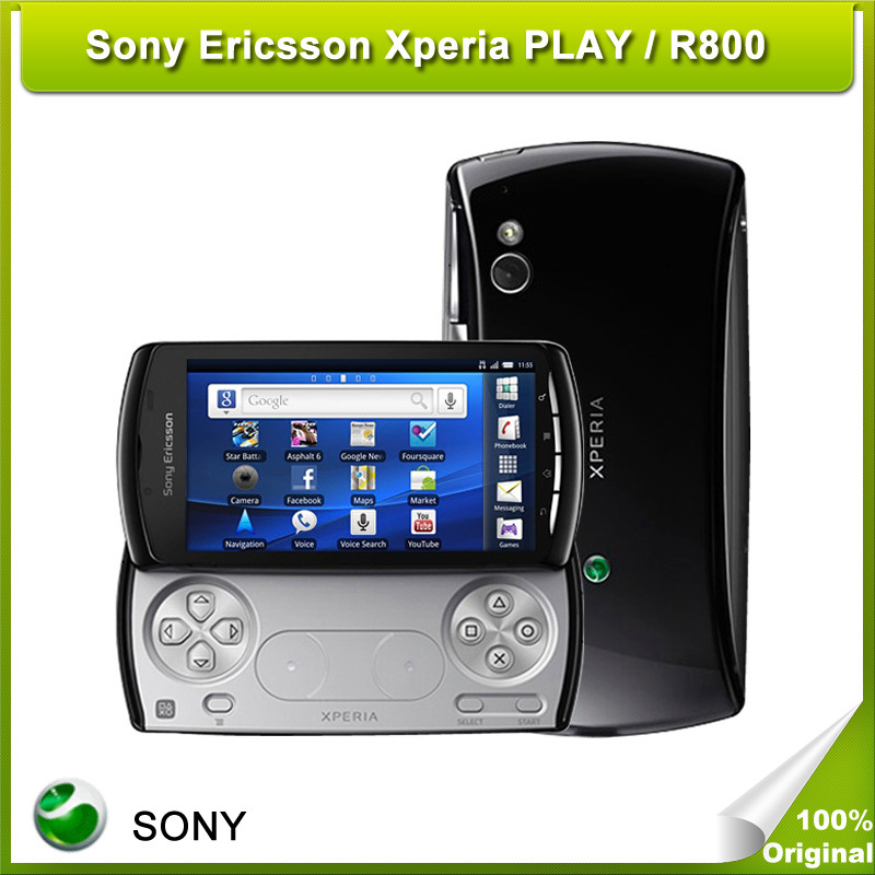 Unlocked Cheapest R800 Sony Ericsson Xperia PLAY Z1i R800 Original Cell Phone Refurbished Free Shipping(China (Mainland))
