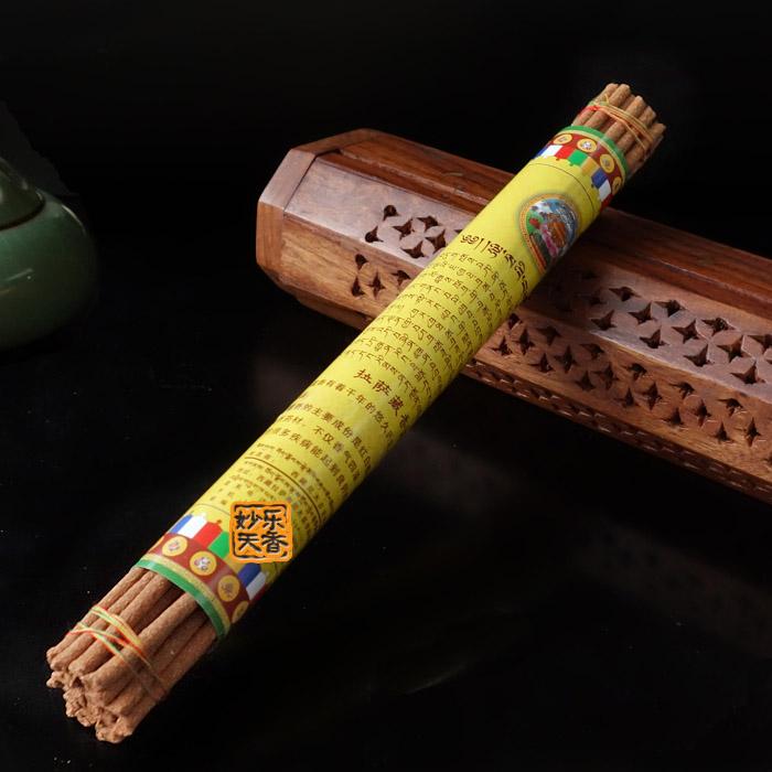 Handmade Incense Sticks From Tibet Nyemo County,Natural buddhist meditation healing,Burning nice aroma(China (Mainland))