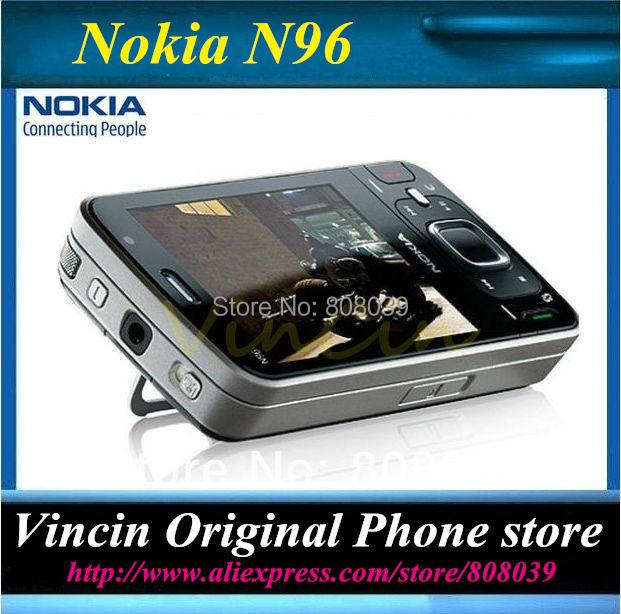 original unlocked Nokia N96 3G GSM mobile phone WIFI GPS 5MP16GB internal Storag Refurbished(China (Mainland))