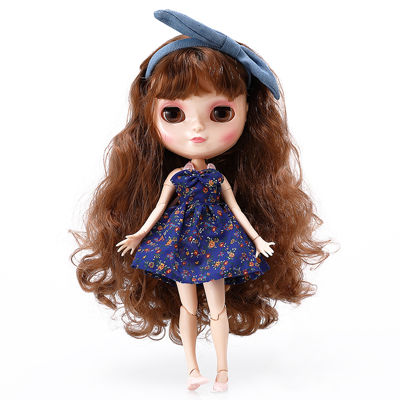 Bjd Doll Fashion Blyth Nude Doll Can Be Changed Make up and Dress 12 Inch Reborn Dolls For Girls Gift Hobby Crafts BLCB5(China (Mainland))