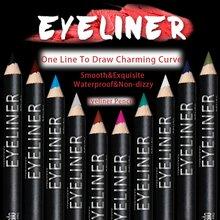 Buy 12 Pcs/Set Eye Shadow Waterproof Eyeliner Pen Pencil Makeup Pen Draw Eyebrows Colorful Eyeliner Retail Box a12 YO B6 for $2.83 in AliExpress store