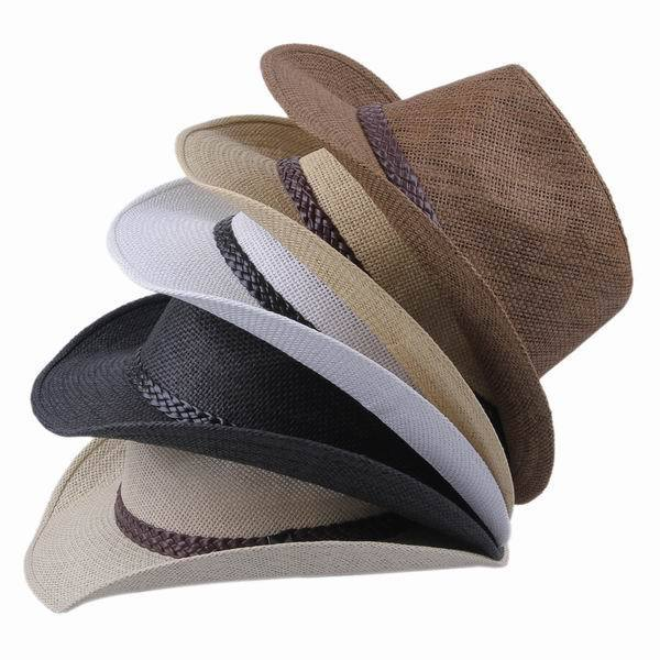 New 2014 wholesale brand cowboy hats straw hats for men women summer