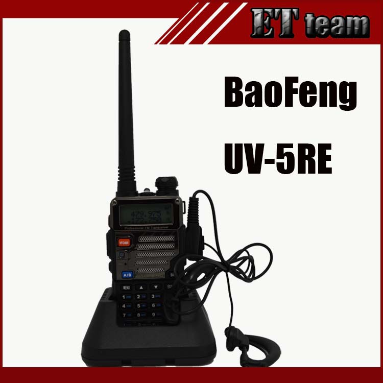 Bao Feng s 2015 BaoFeng 5RE Walkie Talkie 136/174 & 400/520 uv5RE 5RE baofeng UV-5RE walkie talkie 5re 136 174 400 520 fm 65 108 5r usb uv 5re