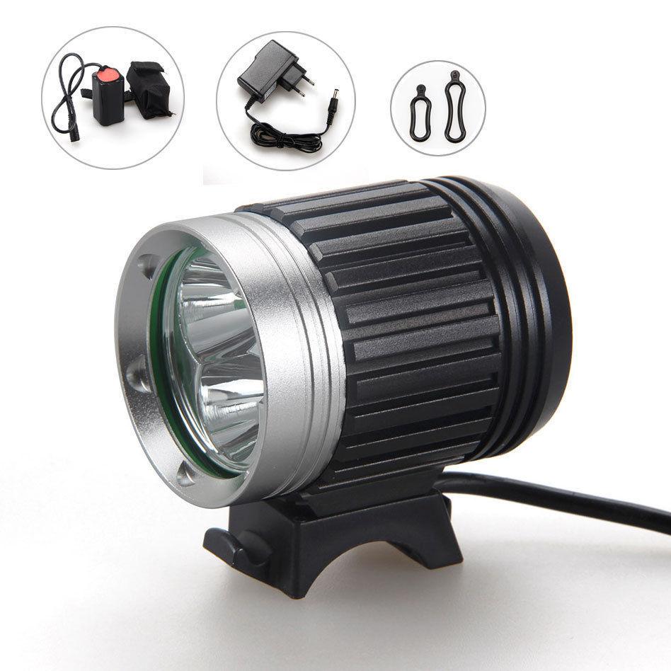 Lantern 3800LM 3xCREE XML T6 LED Bicycle Light Bike Light LED Headlamp HeadLight Waterproof Aluminum alloy with Battery Headband<br><br>Aliexpress