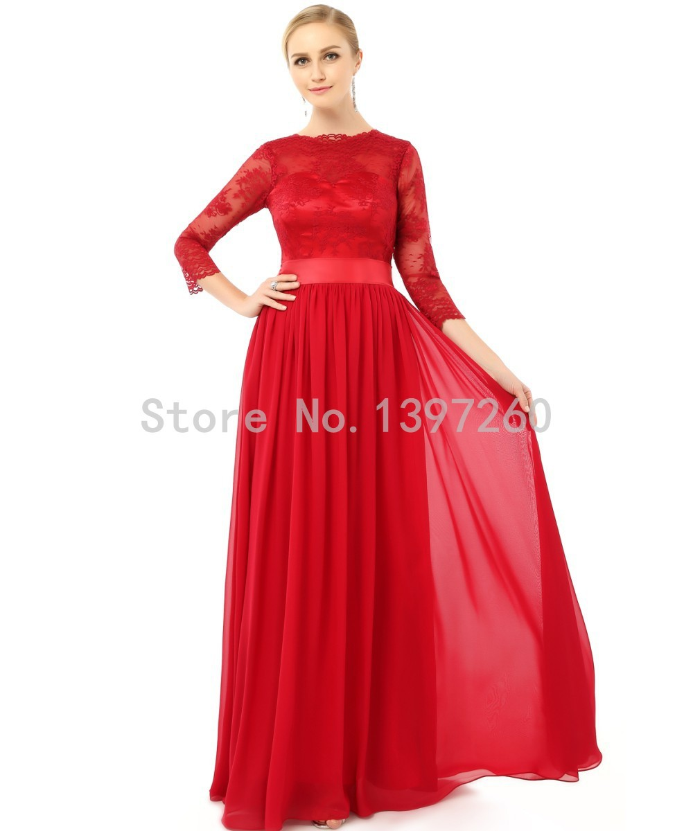 Robe rouge en ligne