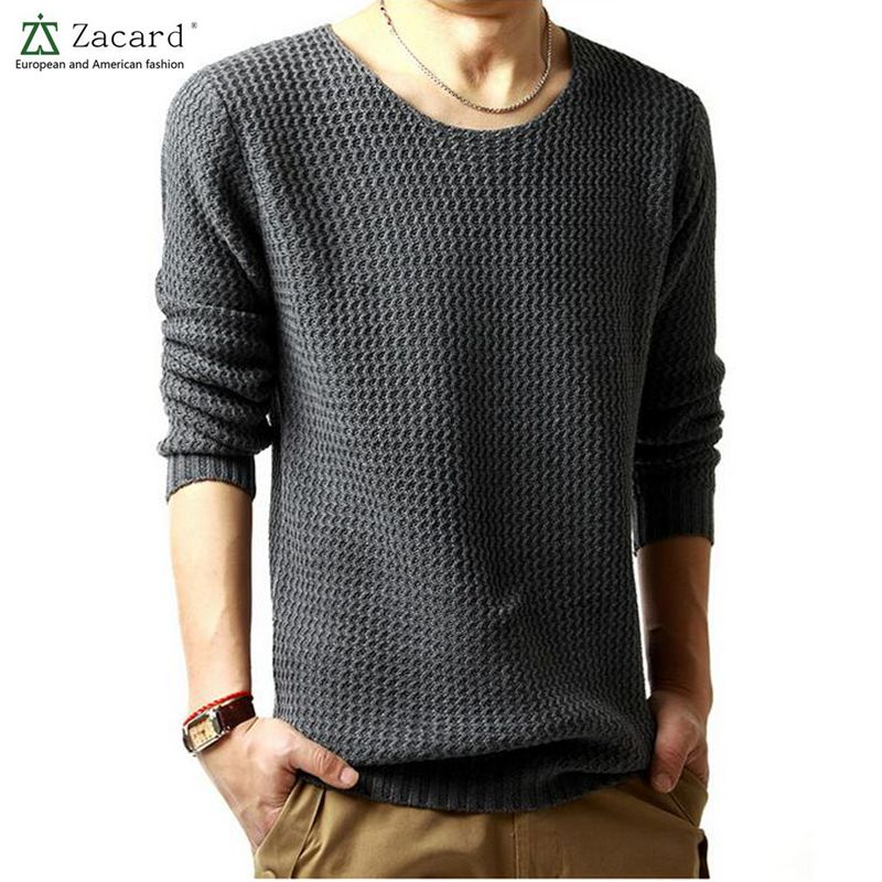 2016 Spring Brand Mens Casual Sweater Male Cashmere Wool ...
