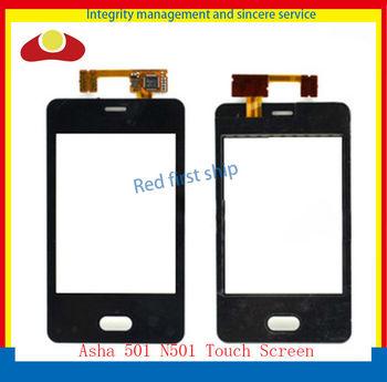 Original For Nokia Asha Lumia 501 N501 Touch Screen Digitizer Glass Panel Free Shipping.