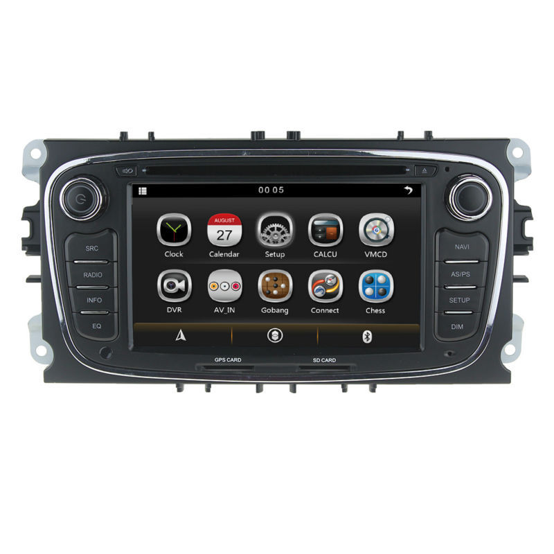 Two Din special Car PC DVD GPS For FORD/FOCUS 2 /MONDEO/S-MAX/CONNECT 2008-2011 With Radio Dual zone RDS Bluetooth SWC USB SD 3G(China (Mainland))