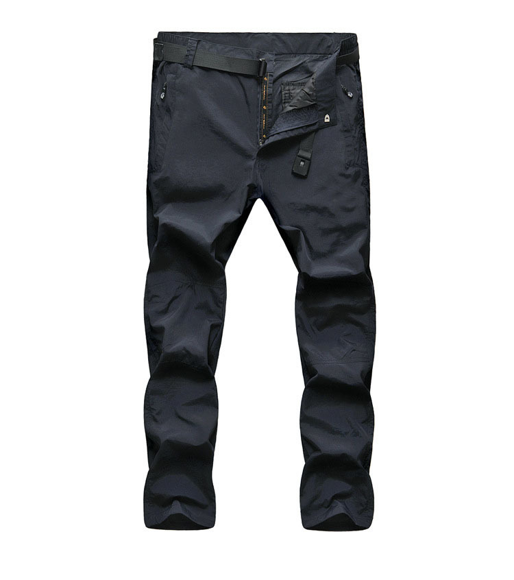 2016 New Outdoor Quick Dry Pants Summer Men Hiking Pants Breathable Uv Protection Removable Pants For Camping Fishing Trousers(China (Mainland))
