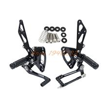Buy New Arrived CNC Adjustable Foot pegs Rearset Footrests Rear Sets Kawasaki Ninja 1000 /ABS Z1000/ABS Z1000SX 2011 2012 2013 for $99.36 in AliExpress store