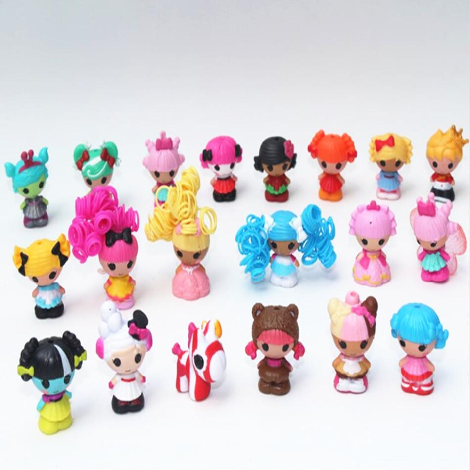 2015 new arrival,24 pcs/set MGA mini Lalaloopsy doll toys, Lalaloopsy Girls Fashion Dolls Toys, Kid Child Birthday Gift(China (Mainland))