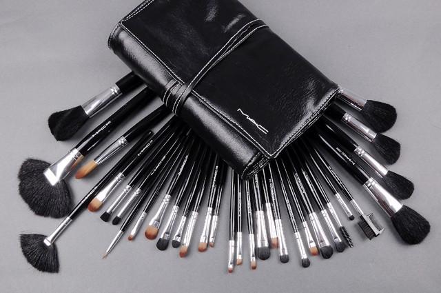 моды красоты косметические кисти макияж кисти установить 32pcs/набор хорошее качество волос вокруг поле заменить mac
