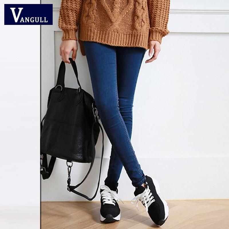 Hot Sale Skinny Jeans Woman Autumn New 2016 Pencil Jeans For Women Fashion Slim Ankle-Length Jeans Women's Printed Denim Pants