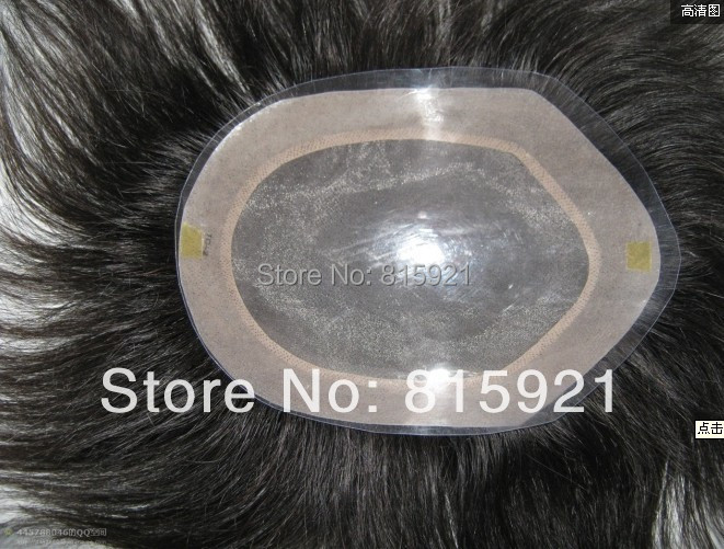 Stock Quality Remy Human Hairpiece Mens Toupees Sale - EJS Shop store