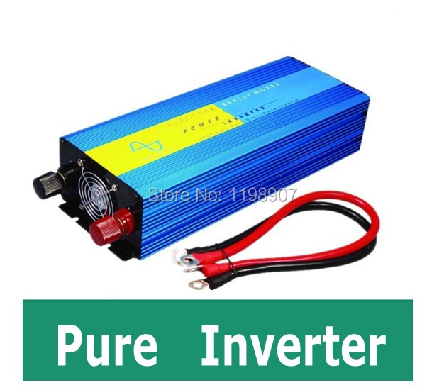 Pure Sine Wave Inverter 1000W 12V to 100V for Solar Wind Power System, DIY Micro Home Power System for home use free shipping<br><br>Aliexpress