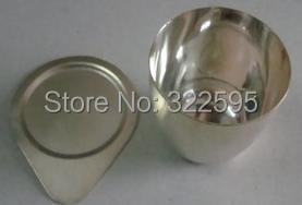 30ml 99.99% SILVER crucible WITH cover good quality<br><br>Aliexpress