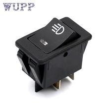 Buy Car-styling rocker switch 5 X 12V 35A Car Auto Fog Light Rocker Toggle Switch Blue LED Dashboard Sales ja 6 for $4.49 in AliExpress store