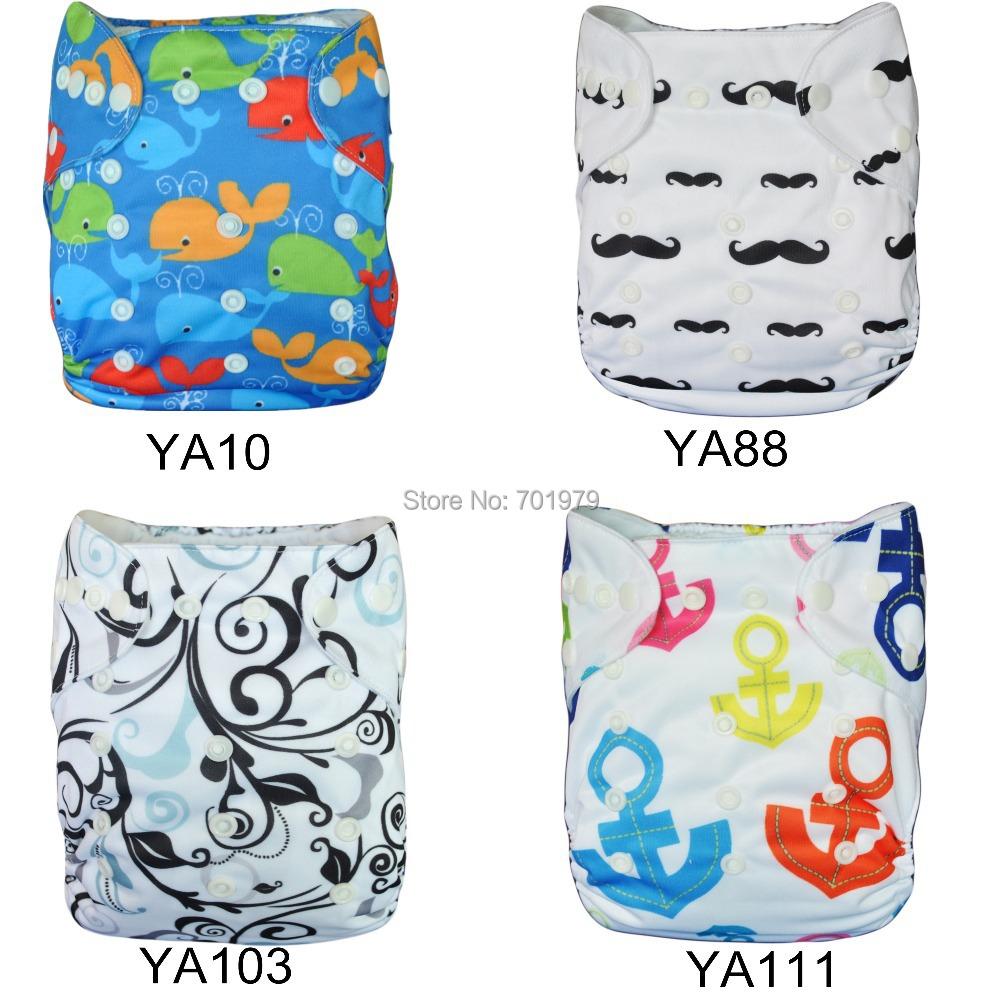 New Fashion! 2014 ALVA Free Shipping Reusable and Washable Alva Cloth Diaper (10 pieces/lot)(China (Mainland))