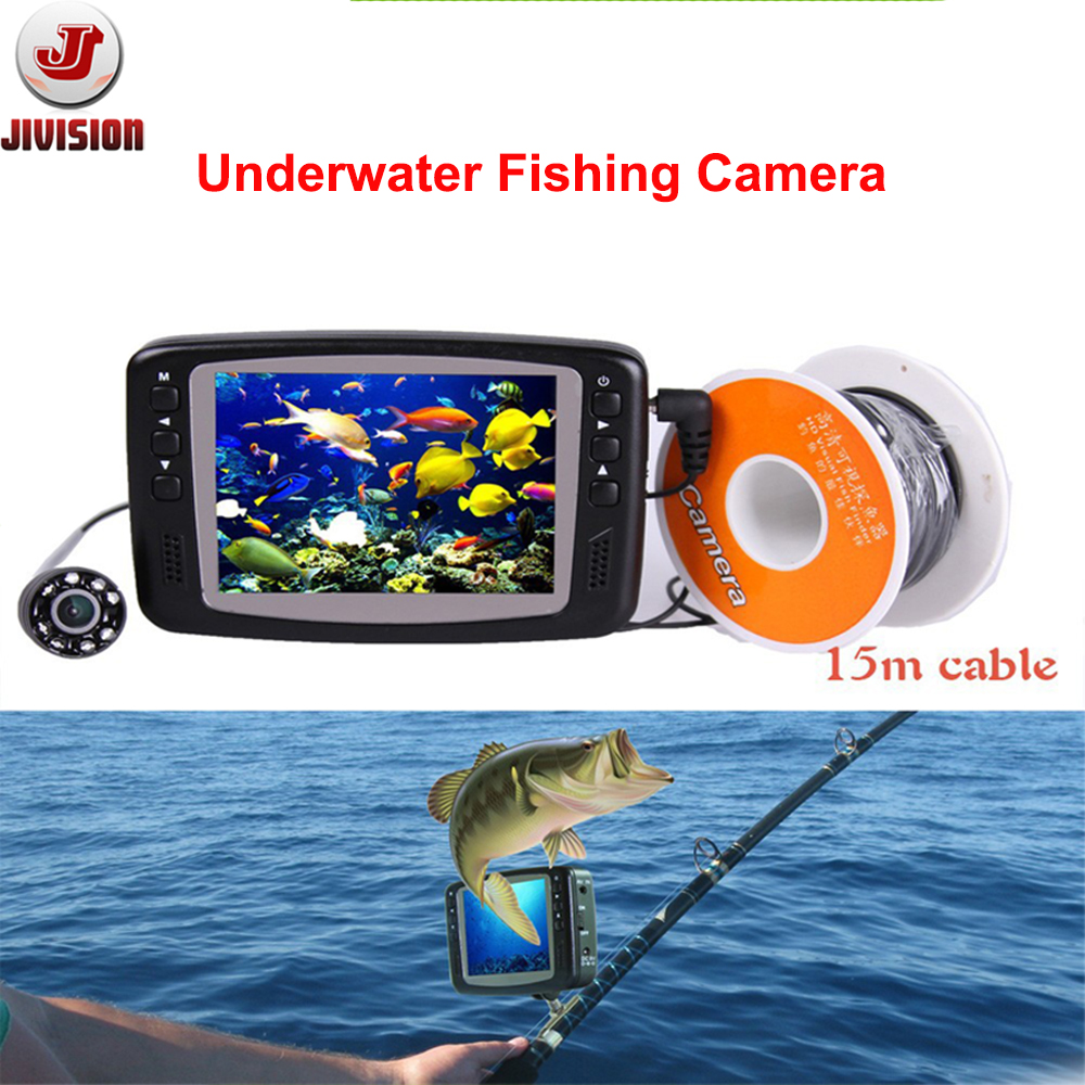Buy hot sale 3 5 39 39 screen 8pcs lights for Best underwater fishing camera